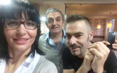 OUR DEAR GUEST PEDRO REQUENA AGAIN IN THE HOTEL ZENIT