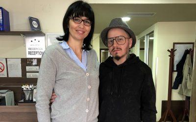 Famous Greek fashion designer Marios Karavasilis was again guest of the hotel Zenit Novi Sad