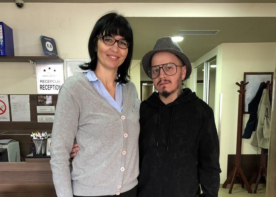 Poznati grčki modni kreator Marios Karavasilis ponovo gost hotela Zenit Novi Sad
