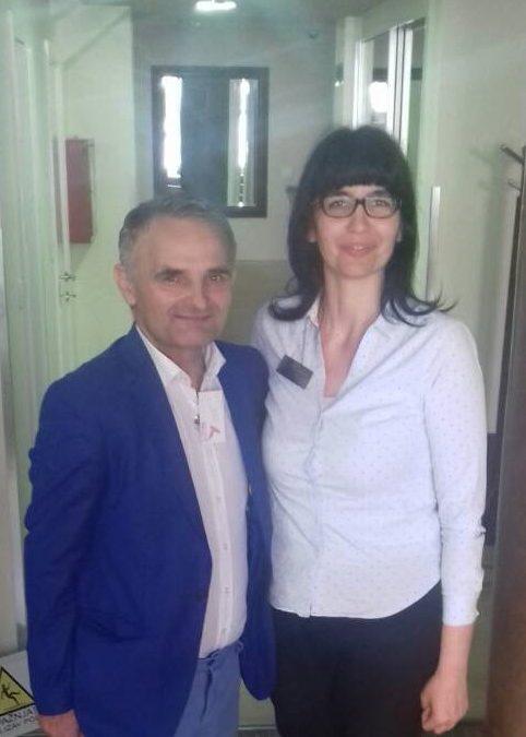 Tode Nikoletic, gost hotela Zenit