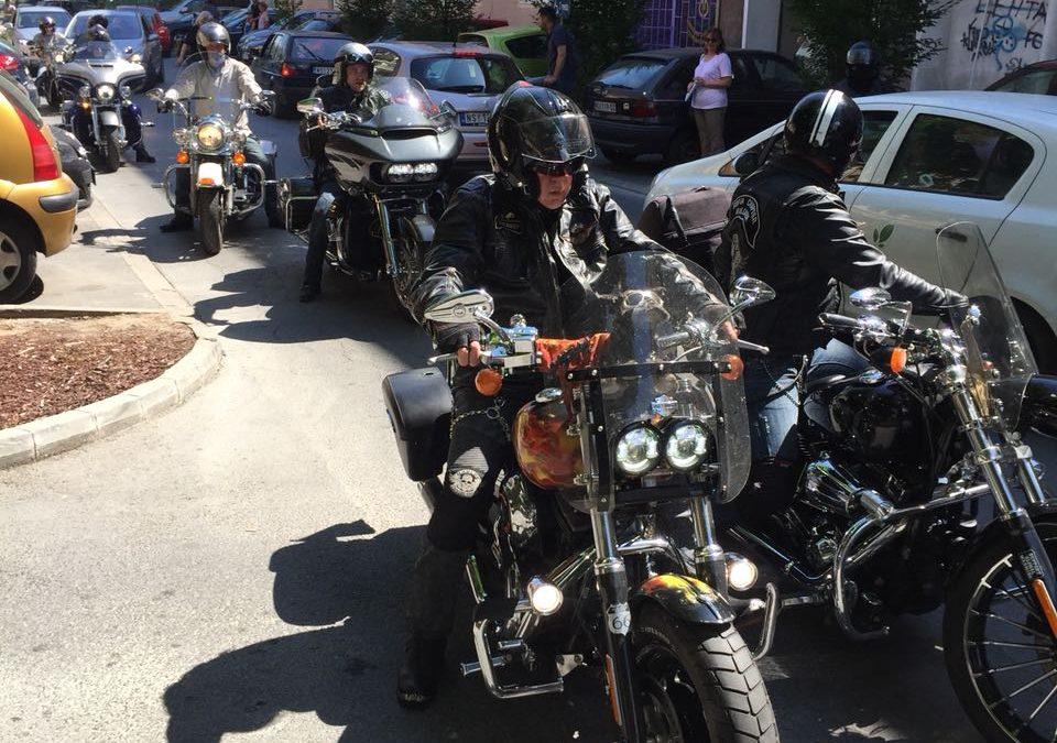 Motociklisti iz Bugarske gosti hotela Zenit